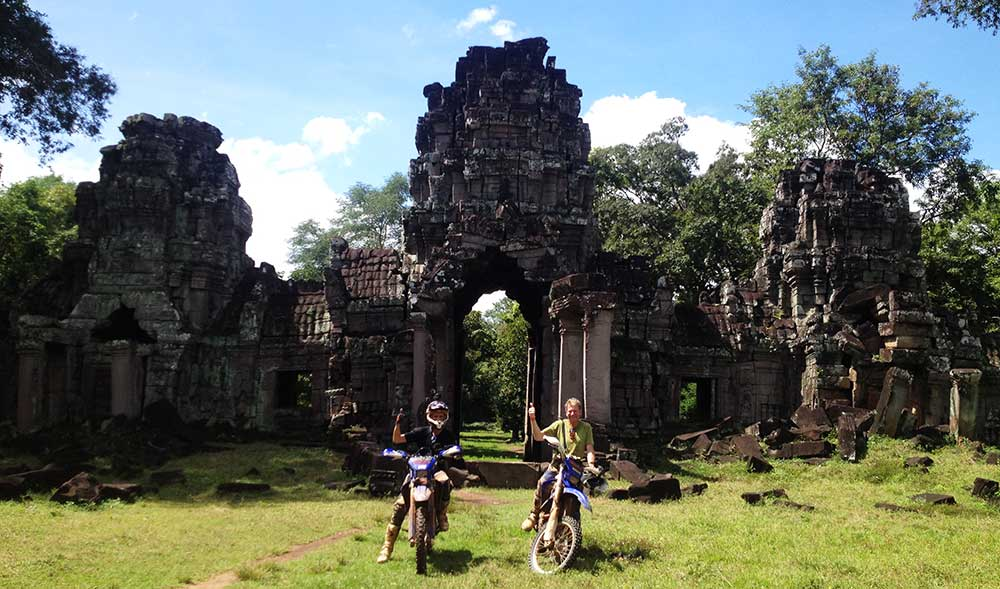In front of Preah Khan Temple
