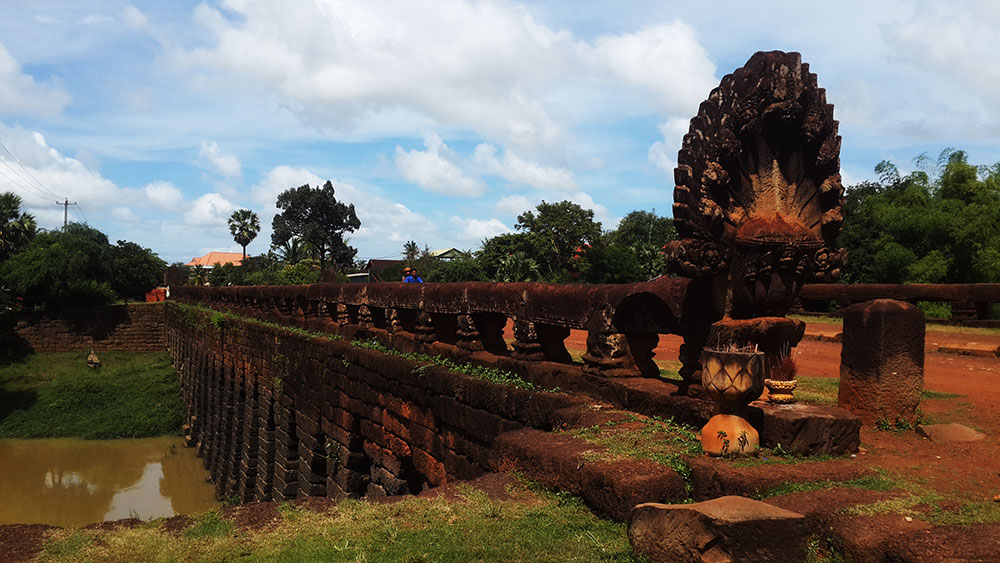 Ancient Angkorian Bridge