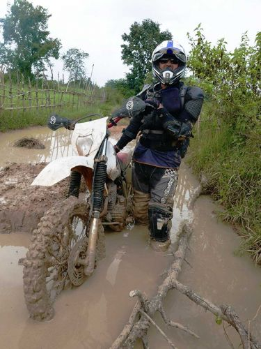 dirt-bike-tours-cambodia-mud-hole