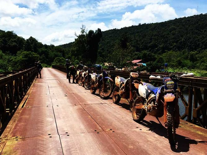 dirt-bike-tours-cambodia-iron-bridge