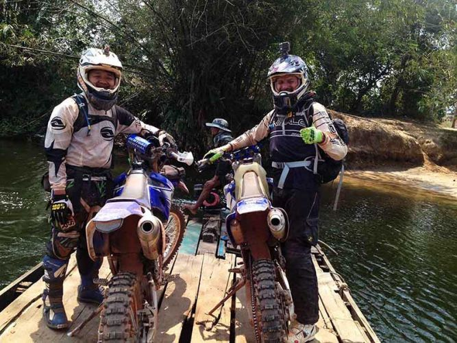 motorbike-tours-cambodia-chipat-ferry